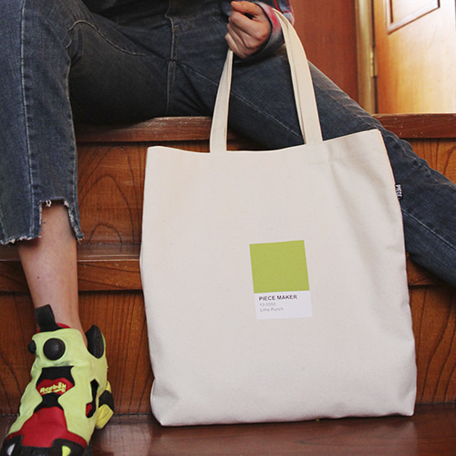COLORS ECO BAG (LIME)