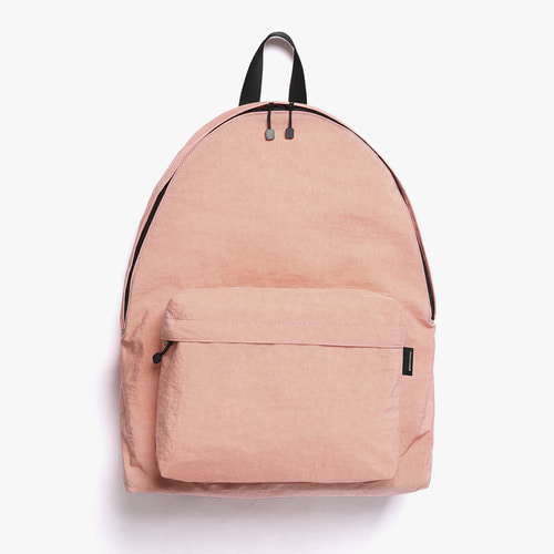 SHIRRING NYLON BACKPACK (PINK)