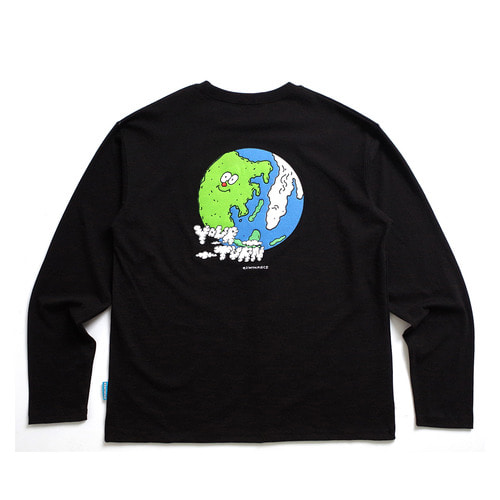 [EZwithPIECE] EARTH LS (BLACK)