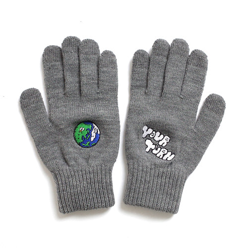 ★선물박스★ [EZwithPIECE] EARTH SMART GLOVES (GREY)