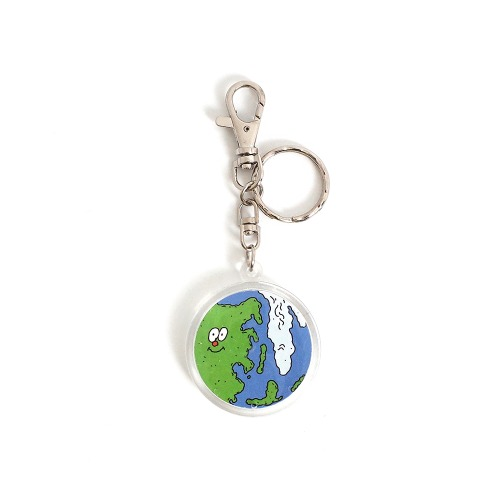 [EZwithPIECE] EARTH KEY RING (CLEAN)