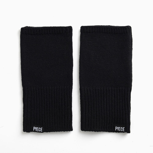 CASHMERE ARM COVER (BLACK)
