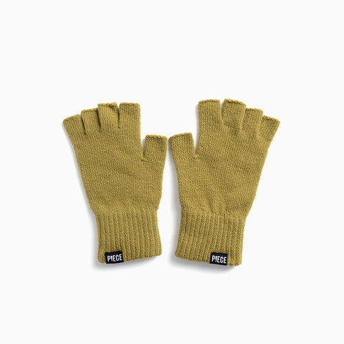 ★선물박스★ CASHMERE FINGERLESS GLOVES (OLIVE)