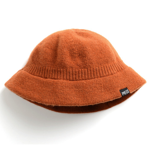 CASHMERE BUCKET HAT (BROWN)