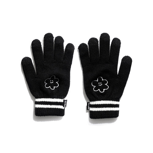 ★선물박스★[EZwithPIECE] GLOW DAISY SMART GLOVES (BLACK)