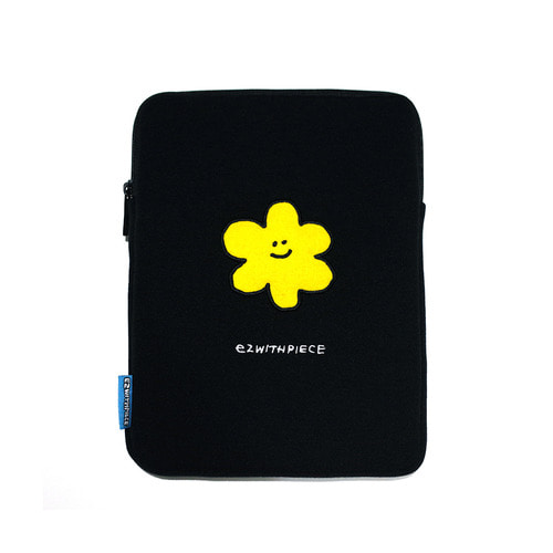[EZwithPIECE] DAISY TABLET POUCH (BLACK)